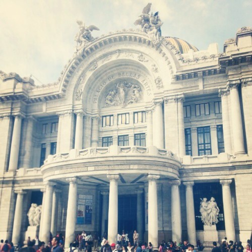 #mexico (at Palacio de Bellas Artes)