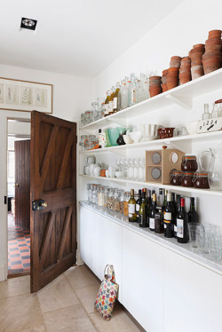 myidealhome:   open shelves (via desiretoinspire.net - Alexander James)