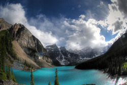 Moraine Lake, Banff National Park by mcdanielism on Flickr.I have a dream