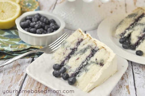 bakeddd:  lemon blueberry marble cake click here for recipe