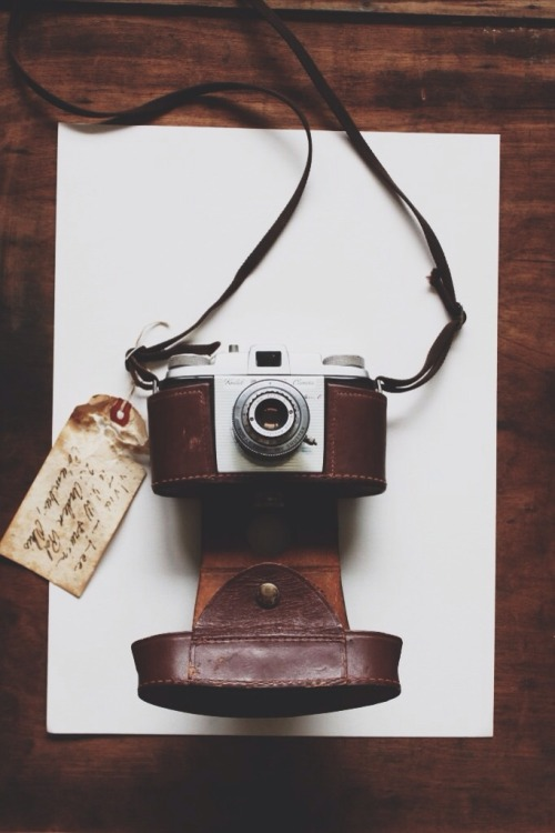 "lylaandblu:  1924Who doesn't want a film camera especially one with a story! Each of our cameras comes from a special somewhere with a lot to tell, great as decorative or usable pieces to your home collection. Available now during our Spring Sale, use code ""SPRING15"" at checkout for 15% off your entire purchase, ends tomorrow! Give this gentleman a home!"