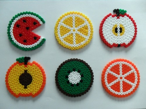 Macedonia Coasters - Hama Beads