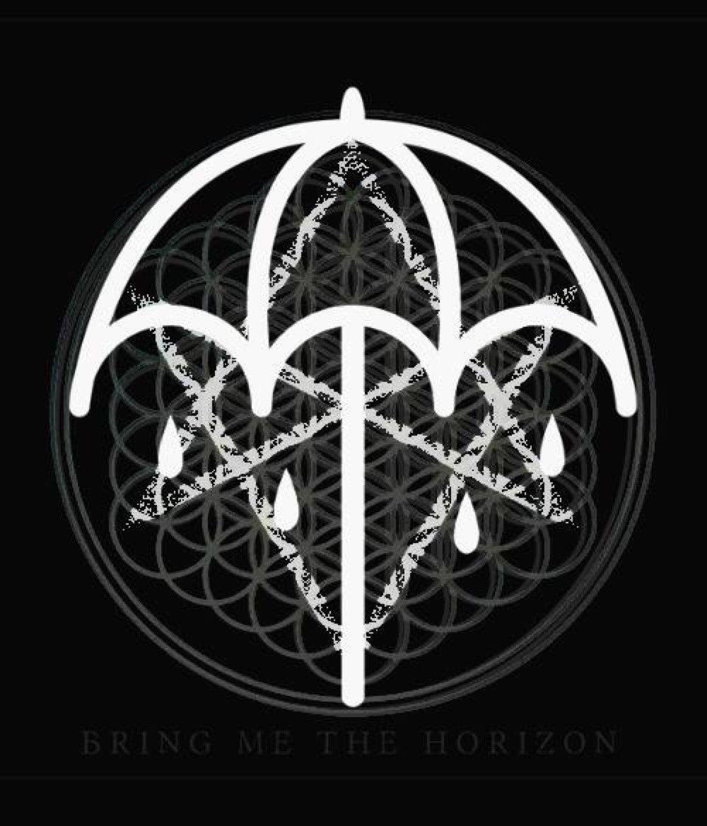 Bring Me The Horizon All Of Bring Me The Horizons Logos Put Together