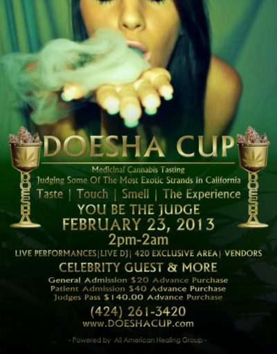 DOESHA CUP OFFICIAL DATE SET FEBRUARY 23, 2013 DOWNTOWN LOS ANGELES