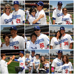 A beautiful Mother's Day at Dodger Stadium!