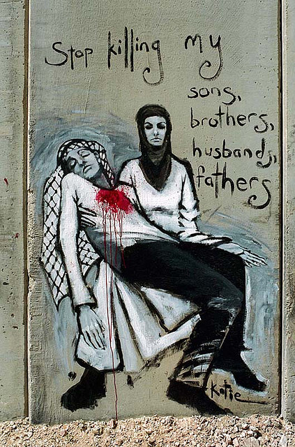 momnaaaa:  Palestine Grafities by O.Blaise on Flickr.