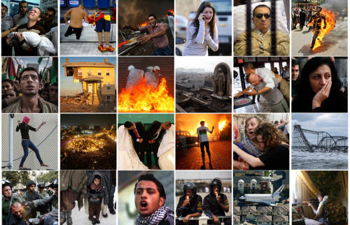 picturedept:   2012 in Review: The Year in Photos It was a turbulent 12 months, from conflicts across the Middle East to America's toll from an epic hurricane and heartbreaking gun violence. A look at the photos that captured 2012, by The Daily Beast.