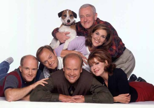 Need a prescription for some 90s therapy? All eleven seasons of Frasier are currently streaming on Hulu!