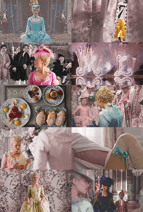 cissyandthedarkmarks:  Screencap Meme: Colours Abound + Marie Antoinette