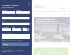 Anodyne Health :: Site We did a complete redesign of the site and a refresh of the branding to bring it in-line with a new parent company.  See the Site