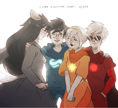 kingkimochi:  Happy Birthday John!!!!!! I hope you finally unite with your friends and have a wonderful time together!! Also, happy 4|13 to everyone else!! <3