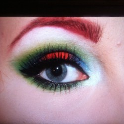 Tonights look inspired by Megan Martinez <3 #makeup #sugarpill #midori #acidberry #vlocity #tako #flamepoint #lumi