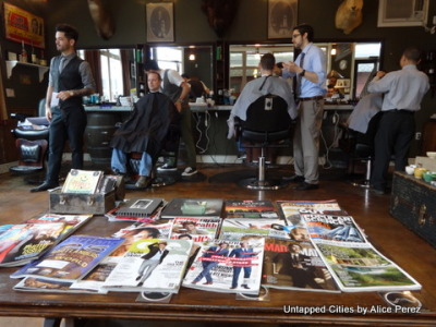 The Modern Man: Roaring 20s Inspired Barbershop in Portland, Oregon http://bit.ly/10kWull