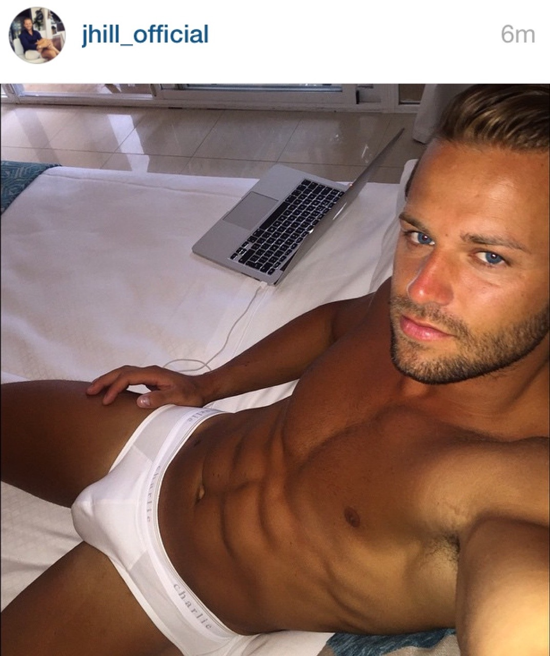... from The Apprentice UK, looking fly. Now just post some naked selfies