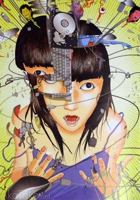 "akatako:  from ""The Art of Shintaro Kago"" by Shintaro Kago"