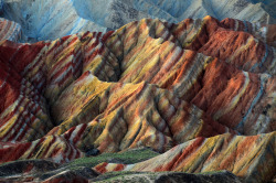 Danxia Landform - Zhangye, Gansu, China | by Melinda