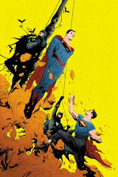 legacyofkrypton:  Batman/Superman #2 [By: Jae Lee]