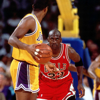 Defending Magic Johnson, 1991 NBA Finals
