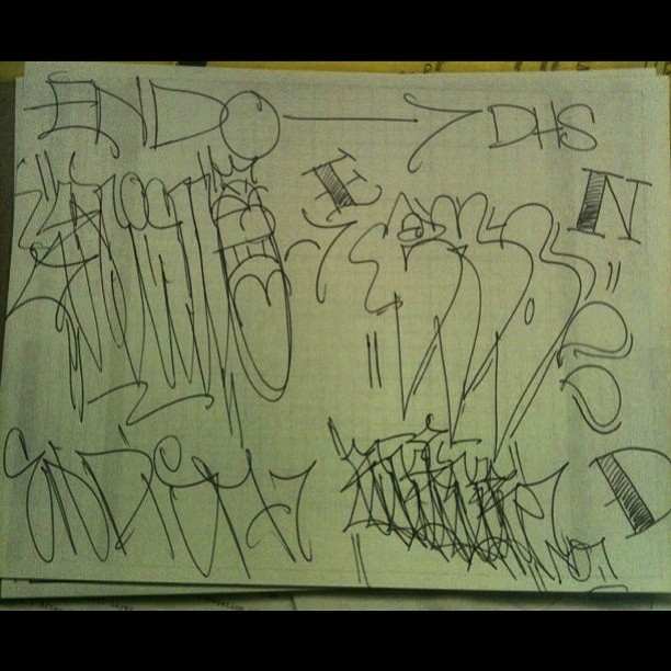 A quick page for the homie @lionofjudeduh #end #dhs #phillygraff #phillygraffiti #graffiti