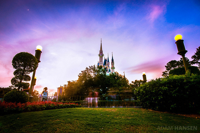 Approaching Cinderella Castle - Magic Kingdom by Adam Hansen on Flickr.