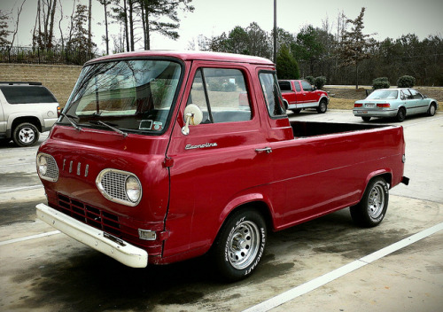 Ford Econoline pickup by Dave* Seven One on Flickr.