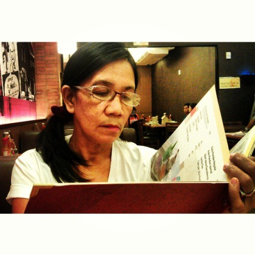 Mama & Menu.  (at SM City Batangas)