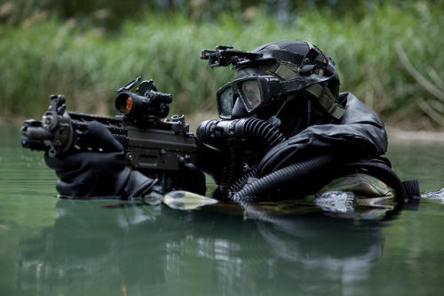 (via Special Forces Combat Diver Takes Photograph by Tom Weber - Special Forces Combat Diver Takes Fine Art Prints and Posters for Sale)