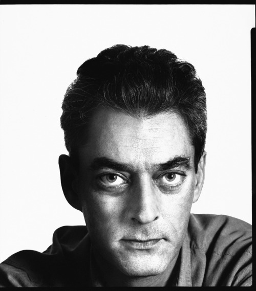 American writer, Paul Auster by Richard Avedon