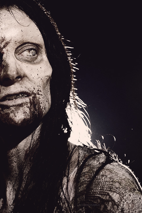 favourite characters  Walker, The Walking Dead