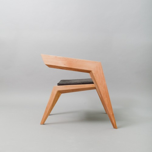 enochliew:  2R Armchair by Sien Studio Despite its fragile silhouette, it proves to be very solid.