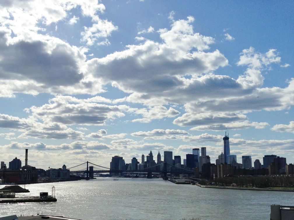 Manhattan skyline from South Williamsburg.