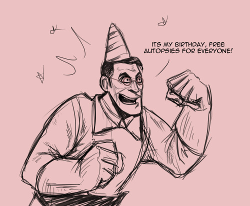 lochnesswonder:  Medic's Birthdays are well fun!!!