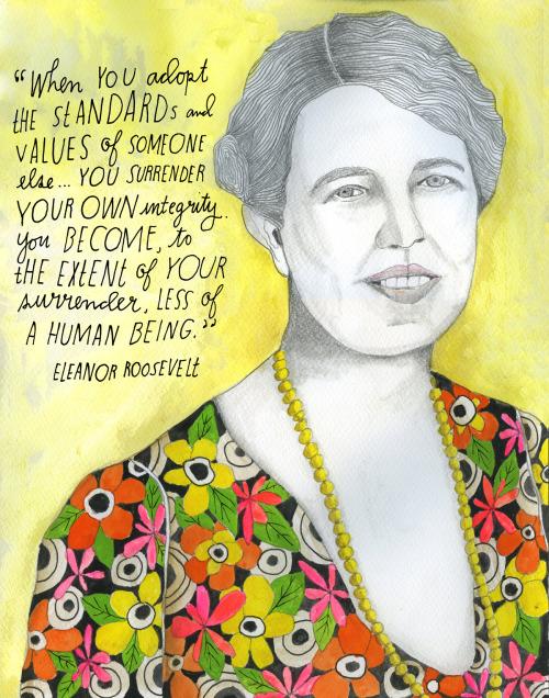 explore-blog:  Happy birthday, Reconstructionist Eleanor Roosevelt!