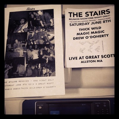 What year is it? Who's the president? I'm making Stairs posters again?