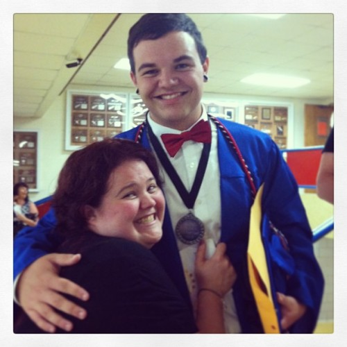 I'm kinda proud of him…..  (at Sullivan East High School)