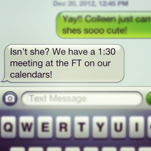 "How amazing are Fashion Truck customers? Scheduling ""meetings"" on the work calendar to come get last minute shopping done?! LOVE IT."