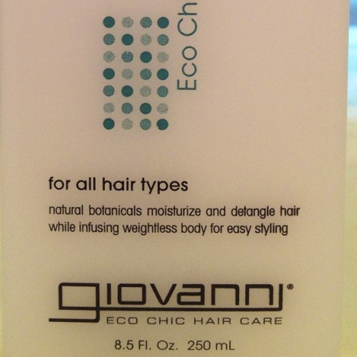 My leave in conditioner- Giovanni Direct Leave In. Purchased at Target or Whole Foods Grocery for $7.99 @mzlove01. I use this mixed with Kinky Curly Knot today. Please note: It is NOT with the other natural hair sectionitems typically at Target. Giovanni is located with the 'all natural beauty products' section, in Health and Beauty at Target- usually next to items like 'Yes to Carrots and Burt's Bees.' At my Target, it's on the very bottom row and almost always on sale. Also, all the bottles look the same, make sure you are not buying rinse out conditioner, or shampoo! This leave in is GREAT for a drier hair type. Let me know how you like it, ladies! #NHM #NaturalHairMojo #teamnatural #naturalhair #naturalhairdontcare #kinkycurly #curlyhair #curlfriends_ #longhairdontcare #blackgirllonghair #naturalhairdiva #naturalhaircommunity #naturalhairjunkies #kinkyhair #coilyhair #curlygirlsrock #naturalgirlsrock #curlbox #naturalhairjourney #twa #bigchop #transitioning #curlygirls #ilovenaturalhair #naturalhairdaily #productjunkie #naturalhairgrowth #naturalhairstyles #kinkykurlydivas