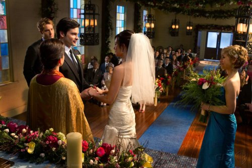 mbethmason:  the wedding of the decade clois series finale smallville
