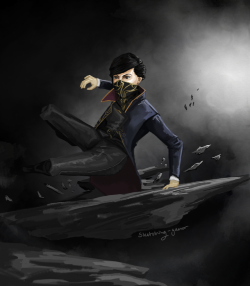 and wow i actually finished something go me dishonored 2 dishonored emily kaldwin my art fanart