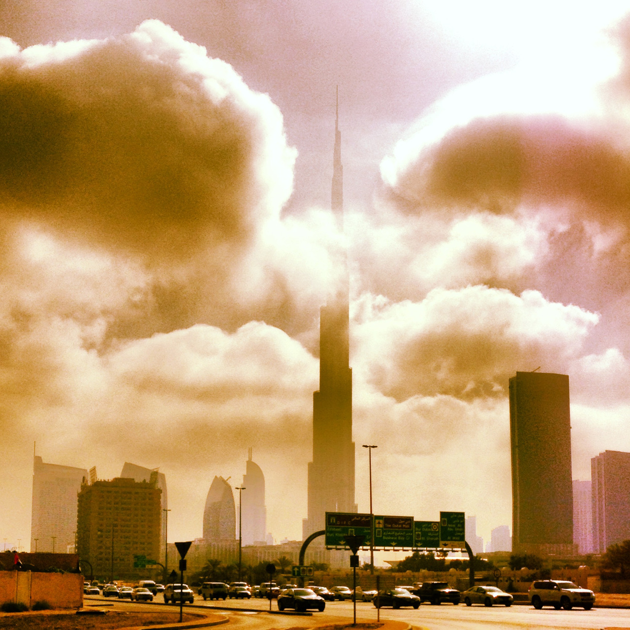 The Shrouded Burj