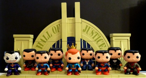 Funko Pop! Superman Collection