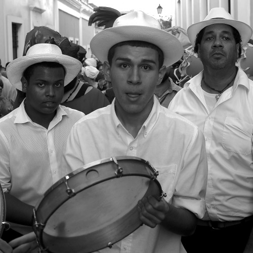 johnedwardbrooks:  Drummers, Viejo San Juan / Digital Photograph / 2012 / John Edward Brooks / johnedwardbrooks.com