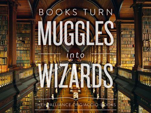 The Harry Potter Alliance's annual book drive has helped spread literacy and build libraries around the world. This year we are partnered with Read Indeed, a literacy organization founded by made-of-awesome twelve year-old Maria Keller. Donate books before June 1st to help Maria realize her goal of donating ONE MILLION books before she turns eighteen.