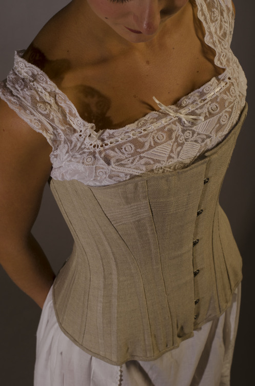 268c74803d1 Photo of one of the corsets made for the book