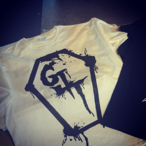 Brand New G4T-shirts! On white! #g4t #music #outrivalclothing #awesome #threads #fashion #style #coffin