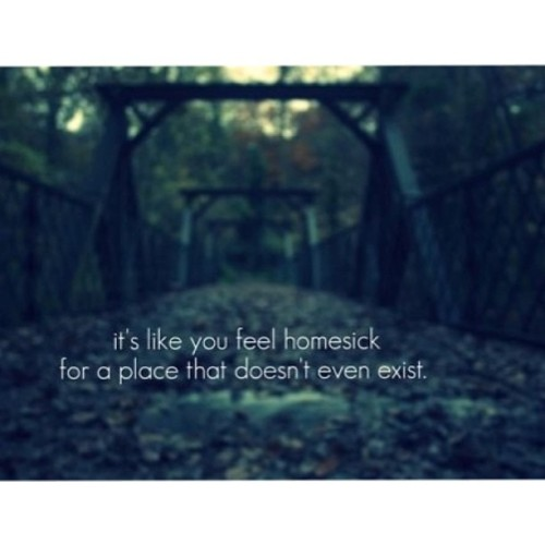 Homesick, that's all 😢💔