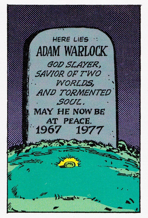 The Death Of Adam Warlock