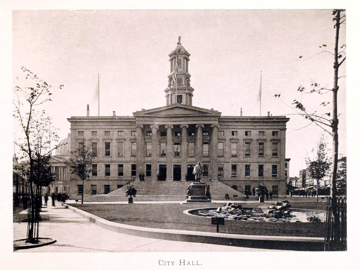 The Borough Hall, Brooklyn