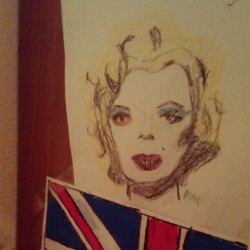 Made that ages ago #flashbacknotfriday #marilynmonroe