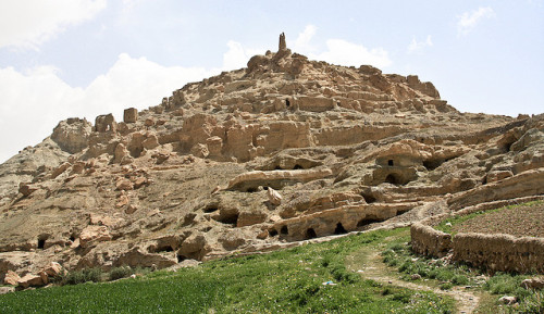 proteus7:  Ruins of Shahr-e-Gholghola - the City of Screams Bamian Valley Afghanistan